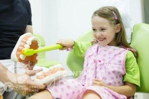 meadowbank dentist - child dental checkup